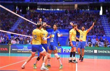 Польща і Бразилія зіграють у фіналі чемпіонату світу. Як і чотири роки тому чоловічий волейбол, чемпіонат світу-2018, півфінали, фінал шести, бразилія польща