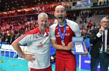 Курек - найцінніший гравець чемпіонату світу-2018 чоловічий волейбол, чемпіонат світу-2018, фінал, польща, сша, сербія, бразилія, бартош курек, мвп