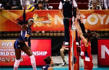 У півфіналах ЧС зіграють Сербія - Нідерланди та Китай - Італія жіночий волейбол, чемпіонат світу-2018, півфінали