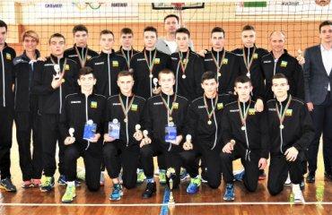 Збірна України U-15 посіла перше місце на міжнародному турнірі юнацький волейбол, збірна україни, турнір в білорусі u-15, u-14