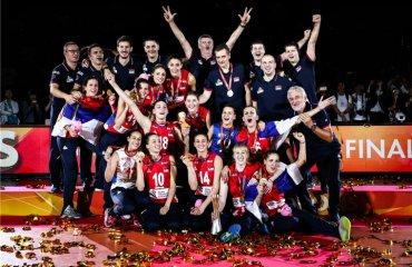 Волейболістки збірної Сербії виграли чемпіонат світу-2018 жіночий волейбол, жіноча збірна сербії, чемпіонат світу-2018, результати, фінал, матч за третє місце