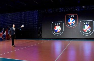 Новий бренд чемпіонату Європи чоловічий волейбол, жіночий волейбол, чемпіонат європи-2019, новий бренд, єкв
