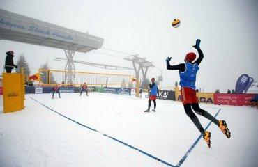 Євротур по волейболу на снігу відбудеться в Італії, Грузії, Австрії, Росії та Туреччині волейбол на снігу, єкв євротур 2018\19, місця проведення матчів