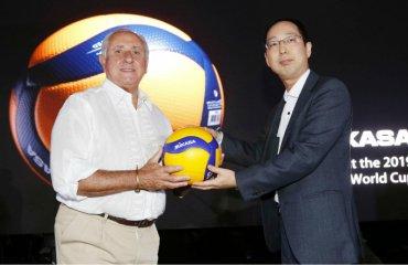 Mikasa представила новий волейбольний м'яч чоловічий волейбол. жіночий волейбол, новий волейбольний м'яч, мікаса, олімпіада-2020