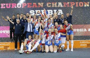 Фінал жіночого чемпіонату Європи-2021 відбудеться в Сербії жіночий волейбол, чемпіонат європи-2021, сербія фінал, єкв