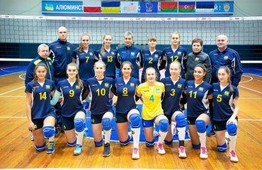 Чемпіонат EEVZA (дівчата U-16). Срібний злет України чемпіонат євза, збірна україни ю17 дівчата, друге місце, срібло