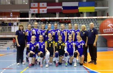 Збірна України U-14 посіла четверте місце на чемпіонаті EEVZA чемпіонат євза, збірна україни ю14 дівчата, четверте місце чемпіонату євза