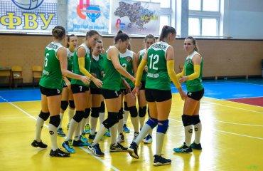 """Вища ліга (жінки). 4-й тур. ВК """"Полісся"""" стає одноосібним лідером жіночій волейбол, вища ліга україни 2018\19, четвертий тур, огляд матчів"""