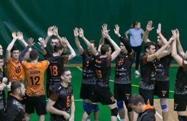 """ВК """"Барком-Кажани"""" став другим фіналістом Кубку України 2018\19 чоловічий волейбол, барком-кажани львів, фінал чотирьох кубку україни 2018\19, політехнік-одеса, півфіналіст"""