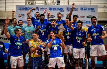 """""""Сада Крузейро"""" став чемпіоном Південної Америки чоловічий волейбол, чемпіонат південної америка, сада крузейро, тейлор сандер"""