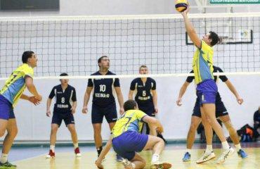 """Перша ліга (чоловіки). """"Фінал чотирьох"""". 1-й тур. Чотири загадки у Нікополі чоловічий волейбол, перша ліга україни 2018\19, фінал чотирьох, нікополь"""