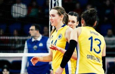 Обзор матчей 13-го тура женской Суперлиги Украины 2018\19 женский волейбол, суперлига украины 2018\19, 13 тур. обзор матчей, реклама 1х bet