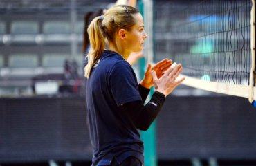 """Дарья СТЕПАНОВСКАЯ: """"Мы выходим на площадку побеждать"""" женский волейбол, суперлига украины 2018\19, дарья степановская, химик южный, видео интервью, финал четырех"""