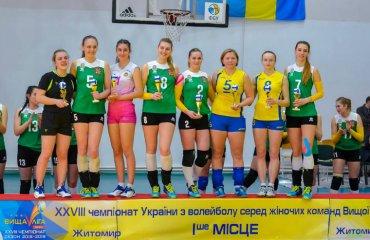 """Кращі гравці """"Фіналу чотирьох"""" жіночої Вищої ліги України 2018\19 жіночий волейбол, вища ліга україни 2018\19, фінал чотирьох, марина лємєшева, кращі гравці турніру"""