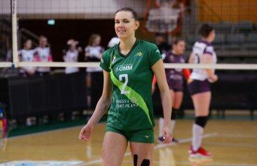 """Диана КАРПЕЦ: """"Уверена, запорожские волейболистки продолжат бороться"""" женский волейбол, суперлига украины 2018\19, химик южный, диана карпец, блокирующая, второй финальный тур, интервью"""