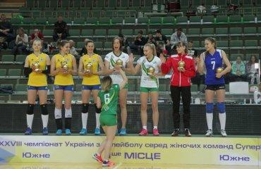 Кращі гравці жіночої Суперліги України 2018\19 жіночий волейбол, суперліга україни 2018\19, кращі гравці україни, фінал чотирьох