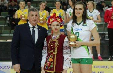 """Диана КАРПЕЦ: """"Не думала, что получу MVP"""" женский волейбол, суперлига украины 2018\19, химик южный, диана карпец, интервью, видео"""