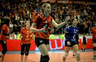 Нападающая Сильченкова продолжит карьеру в Венгрии женский волейбол, екатерина сильченкова, трансфер, украинская волейболистка, венгрия ясберень