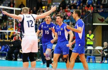 Збірна України перемогла Фінляндію у першому матчі Золотої Євроліги чоловічий волейбол, золота євроліга-2019, україна - фінляндія, огляд матчу