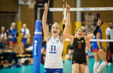 Жіноча збірна України вдома перемогла Чехію жіночий волейбол, золота євроліга-2019, груповий етап, перемога над чехієї, результати матчів