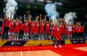 Туреччина виграла Золоту Євролігу-2019 чоловічий волейбол, золота євроліга-2019, фінал чотирьох, переможець збірна туреччина, фото результати матчів