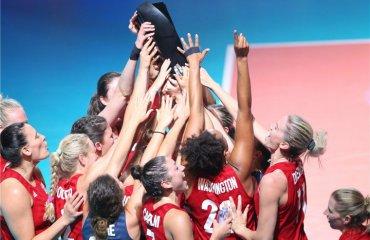 Жіноча збірна США вдруге поспіль виграла Лігу націй жіночий волейбол, ліга націй-2019, збірна сша, фінал шести, фінал турніру, кращі гравці