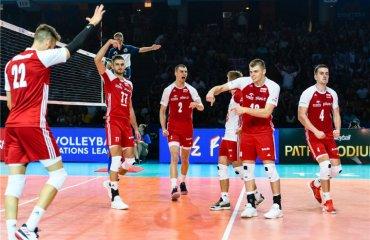 """Польща в """"Фіналі шести"""" Ліги націй обіграла Бразилію, США – Францію чоловічий волейбол, ліга націй, фінал шести, результати, перші матчі, сша, франція, бразилія, польща"""