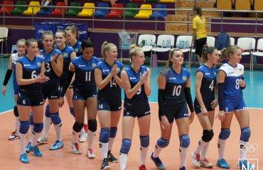 Збірна України U-17 стала сьомою на ЄЮОФ-2019 жіночий волейбол, юнацький волейбол, баку, єюоф-2019, збірна україни ю17