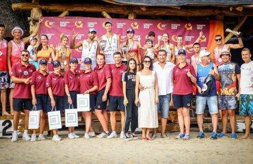 Визначилися володарі Кубка України з волейболу пляжного пляжний волейбол, кубок україни 2019, коропове харків, результати матчів