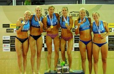 Сестри Махно стали переможцями турніру в Любляні пляжний волейбол, ірина та інна махно, результати, словенія, світовий тур 1*, перше місце, переможці турніру