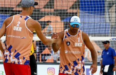 Попов та Гордєєв вийшли в плей-офф чемпіонату Європи-2019 пляжний волейбол, сергій попов та ярослав гордєєв, чемпіонат європи-2019, плей-офф, вихід в групи