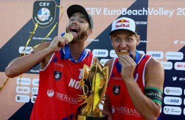 Норвезька пара Мол \ Сьорум захистила титул чемпіонів Європи пляжний волейбол, мол\сьорум, чемпіонат європи-2019. результати матчів