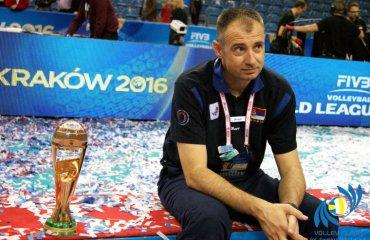 Грбіч покинув пост головного тренера збірної Сербії чоловічий волейбол, збірна сербії, головний тренер, нікола грбіч