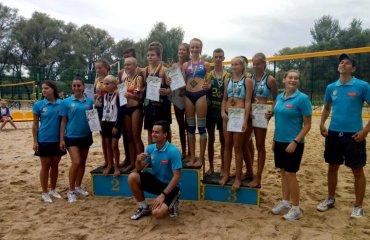 В Чернігові відбувся фінал ЧУ серед юнаків та дівчат до 14 років пляжний волейбол, чемпіонат україни 2019, чернігів, результати туру, ю14