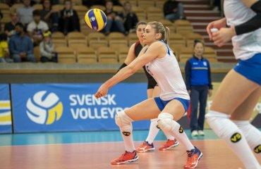 """Карина ДЕНИСОВА: """"Віримо у власні сили!"""" жіночий волейбол, чемпіонат європи-2019, карина денисова, інтервью, жіноча збірна україни"""