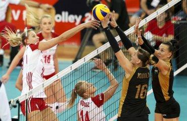 Українські волейболістки поступилися Польщі в матчі групового етапу ЧЄ-2019 жіночій волейбол, збірна україни, чемпоінат європи-2019, поразка від збірної польщі