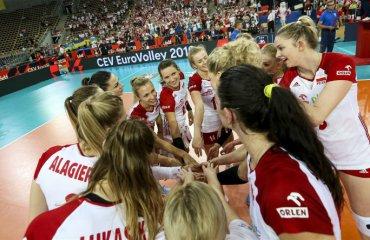 7 команд забезпечили собі місця в плей-офф ЧЄ жіночий волейбол, чемпіонат європи-2019, плей-офф