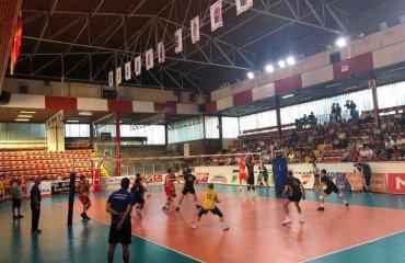Збірна України вийшла в фінал турніру в Скоп'є чоловічий волейбол, турнір в македонії, болгарія, македонія, україна, бельгія