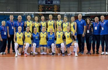 Жіноча збірна України посіла 17-е місце на ЧЄ-2019 жіночий волейбол, чемпіонат європи-2019, жіноча збірна україни, 17 місце