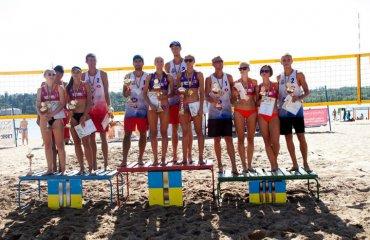 У Запоріжжі визначилися чемпіони України з пляжного волейболу пляжний волейбол, чемпіонат україни-2019, запоріжжя, фінал, призери