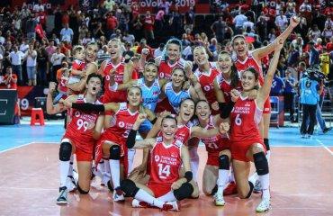 Визначилися чвертьфіналісти чемпіонату Європи-2019 жіночий волейбол, чемпіонат європи-2019, чвертьфіналісти, результати матчів