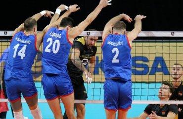 Євро-2019. Сербія обіграла Німеччину та інші результати 2-го дня чоловічий волейбол, чемпіонат європи-2019, результати 2-го дня