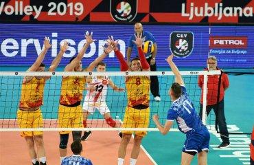 Євро-2019. Македонія перемогла Білорусь та інші результати чоловічий волейбол, чемпіонат європи-2019, результати 16 вересня