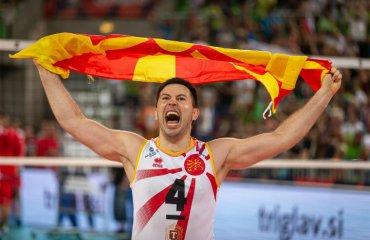 Євро-2019. Македонія обіграла Словенію та інші результати чоловічий волейбол, чемпіонат європи-2019, результати матчів 17 вересня