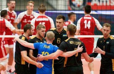 Збірна України поступилася чинним чемпіонам світу чоловічий волейбол, чемпіонат європи-2019, груповий етап, 1\8 фіналу