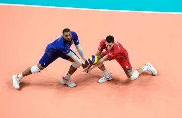 Євро-2019. Франція перемогла Італію та інші матчі 1/4 фіналу чоловічий волейбол, чемпіонат європи-2019, 1\4 фіналу, чвертьфінал, результати матчів