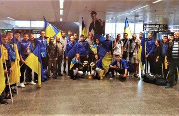 Як в Борисполі зустрічали збірну України (ВІДЕО) чоловічий волейбол. збірна україни, чемпіонат європи, бориспіль, повернення, пяте місце