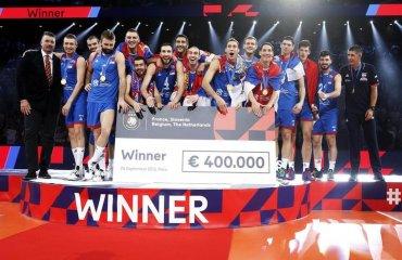 Збірна Сербії – чемпіон Європи! чоловічий волейбол, чемпіонат європи-2019, фінал, збірна сербії, збірна словенії