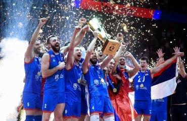 """Ковач привёл Сербию к """"золоту"""" Евро. Он возглавил команду всего месяц назад мужской волейбол, чемпионат европы-2019, финал, сборная сербии, слободан ковач, главный тренер"""
