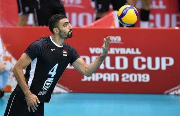 Кубок світу. Єгипет обіграв Іран та інші результати дня чоловічий волейбол, кубок світу, результати 2-го дня